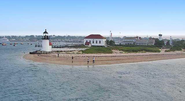 Brant Point lighthouse Nantucket Island